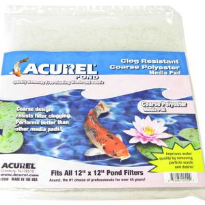 Acurel Coarse Polyester Media Pad - Pond