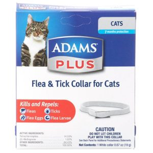 Adams Plus Breakaway Flea & Tick Collar for Cats & Kittens
