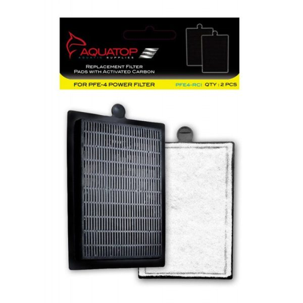 Aquatop Replacement Filter Pads with Activated Carbon