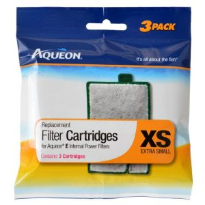 Aqueon Replacement Filter Cartridges for E Internal Power Filter - X-Small