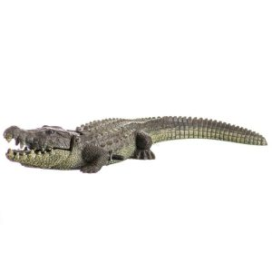 Blue Ribbon Exotic Environments Bubbling Alligator Aquarium Ornament