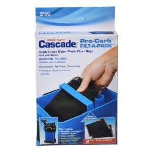 Cascade Canister Filter Pro-Carb Filt-A-Pack