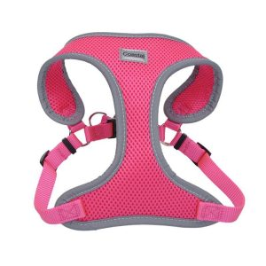 Coastal Pet Comfort Soft Reflective Wrap Adjustable Dog Harness - Neon Pink