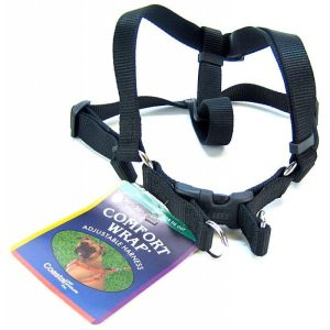 Coastal Pet Comfort Wrap Adjustable Harness - Black