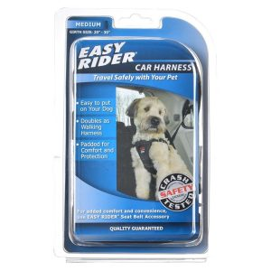 Coastal Pet Easy Rider Car Harness - Black
