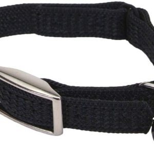 Coastal Pet Sassy Snagproof Nylon Safety Cat Collar Black