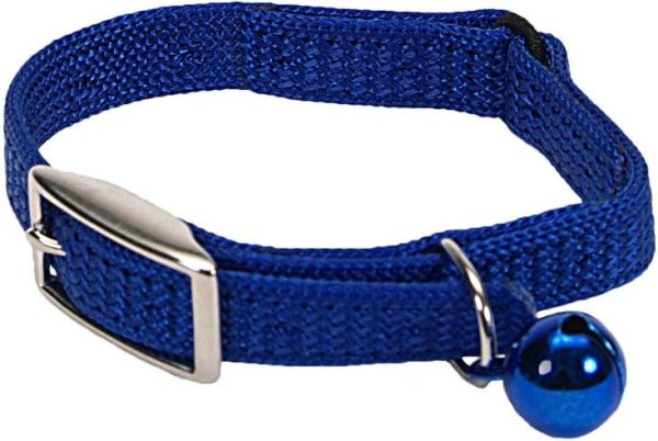 Coastal Pet Sassy Snagproof Nylon Safety Cat Collar Blue