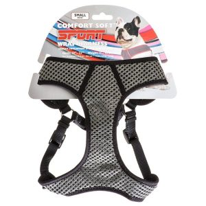 Coastal Pet Sport Wrap Adjustable Harness - Black