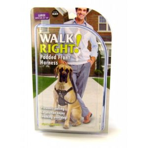 Coastal Pet Walk Right Padded Harness - Black