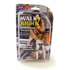 Coastal Pet Walk Right Padded Harness - Red