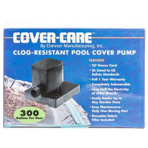 Danner Cover-Care Clog -Resistant Pool Cover Pump