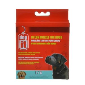 Dog It Nylon Muzzle for Dogs