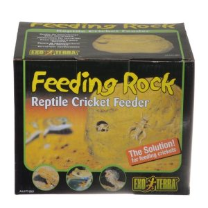 Exo-Terra Feeding Rock Reptile Cricket Feeder