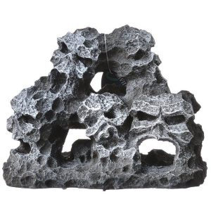 Exotic Environments Mountain Skull Pile Aquarium Ornament