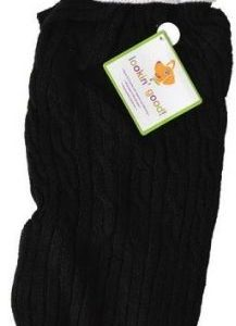 Fashion Pet Cable Knit Dog Sweater - Black