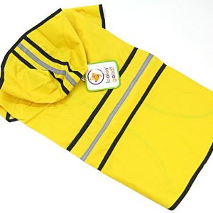 Fashion Pet Rainy Day Dog Slicker - Yellow
