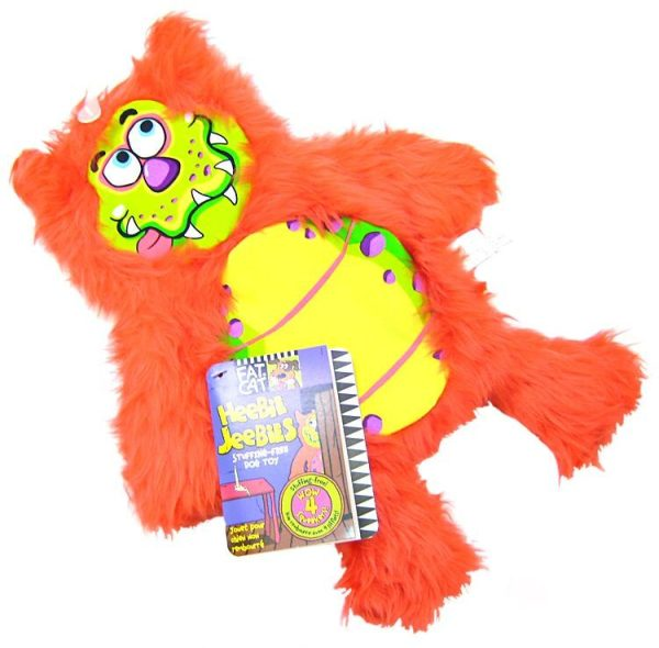 Fat Cat Heebie Jeebies Dog Toy - Assorted