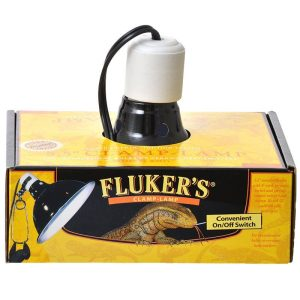 Flukers Clamp Lamp with Switch
