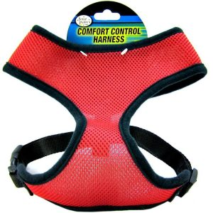 Four Paws Comfort Control Harness - Red