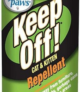 Four Paws Keep Off!  Indoor & Outdoor Cat & Kitten Repellent