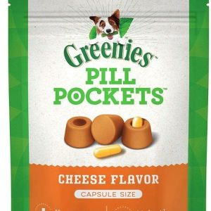Greenies Pill Pockets Cheese Flavor Capsules