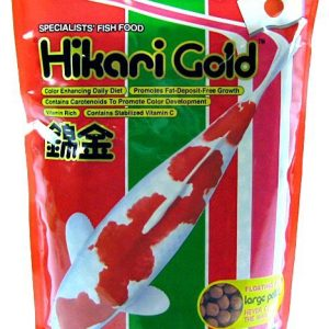 Hikari Gold Color Enhancing Koi Food - Large Pellet