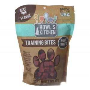 Howl's Kitchen Training Bites Soft Bites - Beef Flavor