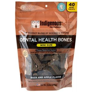 Indigenous Dental Health Mini Bones - Duck & Apple Flavor