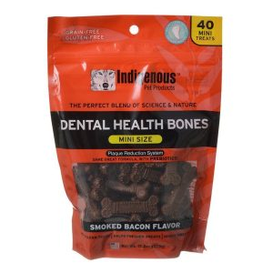 Indigenous Dental Health Mini Bones - Smoked Bacon Flavor