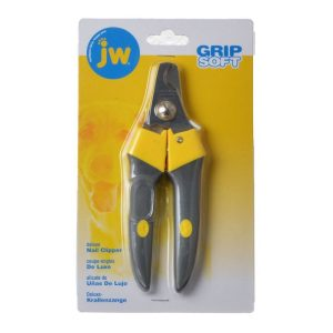 JW Gripsoft Delux Nail Clippers