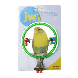 JW Insight Clear Ring Bird Perch