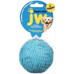 JW Pet Giggler Laughing Ball Dog Toy