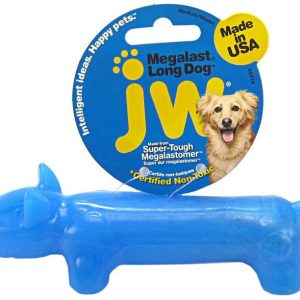 JW Pet Megalast Rubber Dog Toy - Long Dog