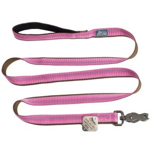 K9 Explorer Reflective Leash with Scissor Snap - Rosebud