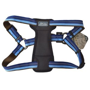 K9 Explorer Sapphire Reflective Adjustable Padded Dog Harness
