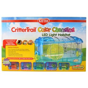 Kaytee Crittertrail Color Changing LED Light Habitat