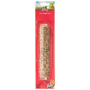 Kaytee Fiesta Fruit & Veggie Treat Stick - Parakeet