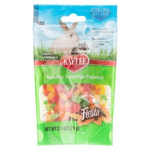 Kaytee Fiesta Healthy Toppings Papaya - Small Animals