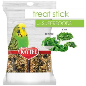 Kaytee Superfoods Avian Treat Stick - Spinach & Kale
