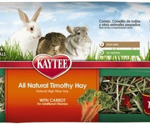 Kaytee Timothy Hay Plus Carrots