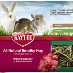 Kaytee Timothy Hay Plus Cranberries - Small Animals