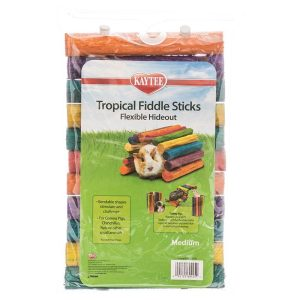Kaytee Tropical Fiddle Sticks Flexible Hide Out