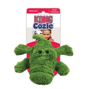 Kong Cozie Plush Toy - Ali the Alligator