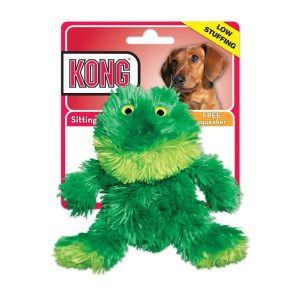 Kong Plush Frog Dog Toy