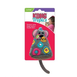 Kong Tropics Mouse Cat Toy with Catnip