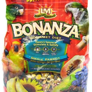 LM Animal Farms Bonanza Small Parrot Gourmet Diet