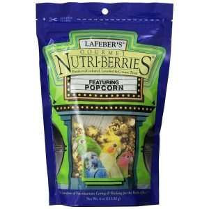 Lafeber Gourmet Nutri-Berries with Popcorn for Parakeet