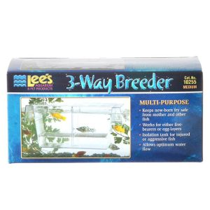 Lees 3-Way Breeding Tank