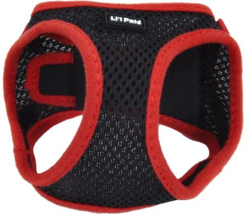 Li'L Pals Black Harness with Red Lining