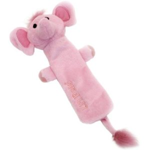 Li'l Pals Crinkle Elephant Dog Toy